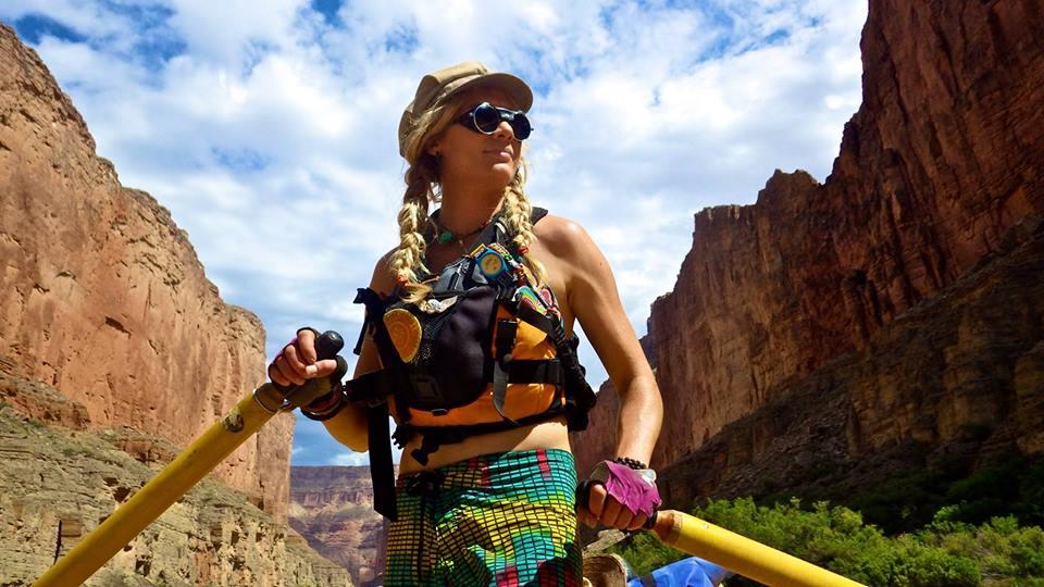 Mandela guiding in The Grand Canyon