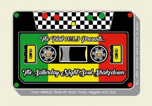 We're shaking it down, reggae-style!