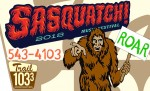 It's Sasquatch time!