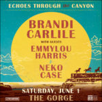 GIVEAWAY: 4 pack of tickets + camping for Echoes Through the Canyon