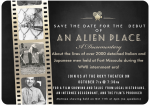 "Debut of ""An Alien Place-A Documentary"" at The Roxy Theatre tonight!"