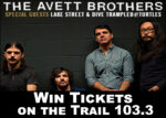 GIVEAWAY: Avett Brothers at the Gorge!